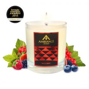 ancienne ambiance bacca berry scented candle - beauty shortlist award winning candle