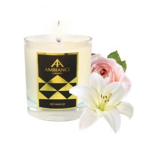 ancienne ambiance - Eset Luxury Candle - Rose Lily Scented Candle