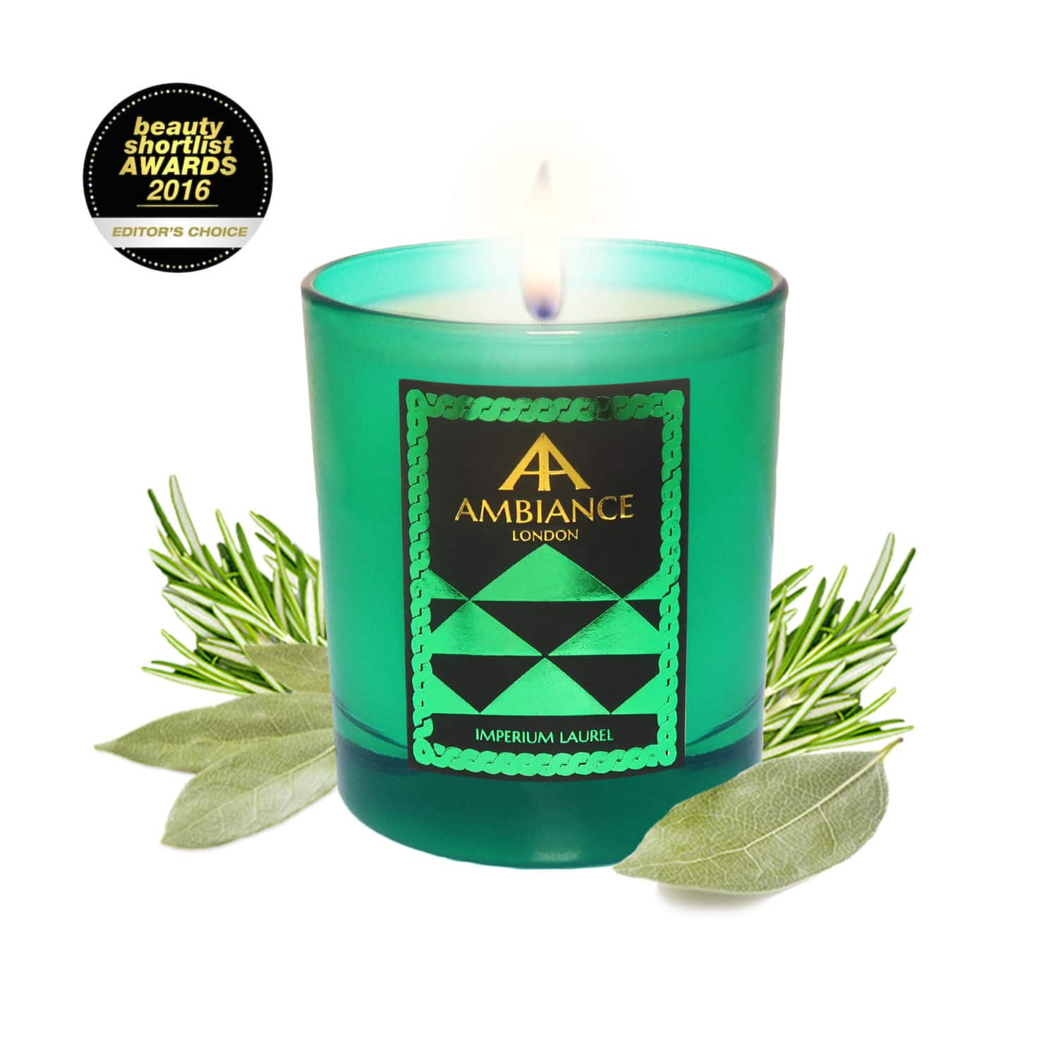 ancienne ambiance Imperium Laurel luxury scented candle - limited edition - beauty short list awards
