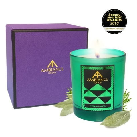 ancienne ambiance Imperium Laurel luxury scented candle giftboxed - limited edition - beauty short list awards
