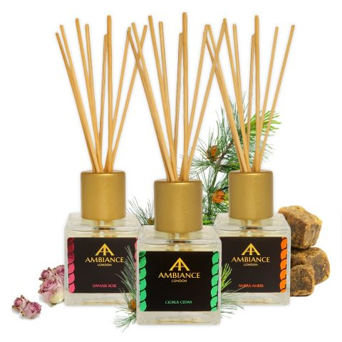 reed diffusers - scented reed diffusers - ancienne ambiance luxury home fragrance