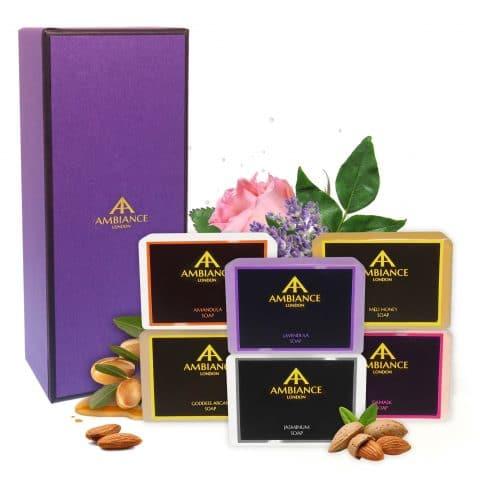 ancienne ambiance luxury soap set - soap set collection - luxury soap collection set