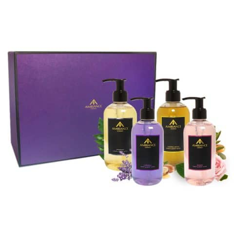 ancienne ambiance luxury hand and body wash gift set - hand wash gift set - body wash gift set