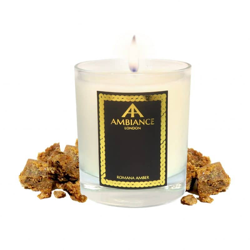 ancienne ambiance - Romana Luxury Candle - Amber Scented Candle