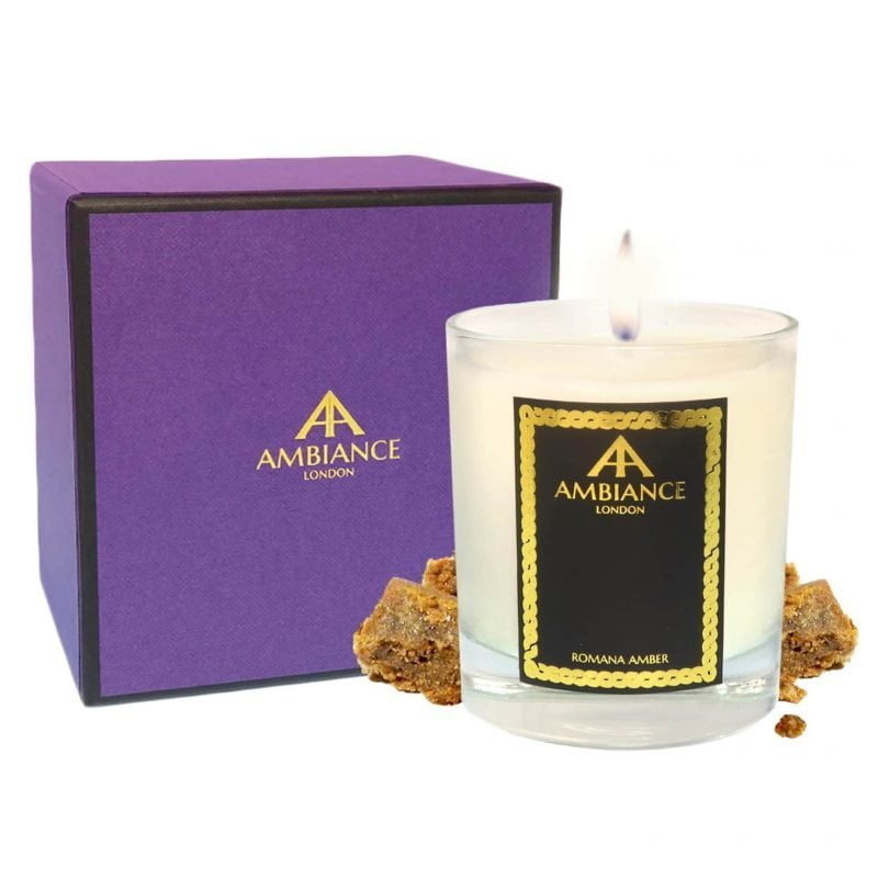 ancienne ambiance - Romana Luxury Candle - Amber Scented Candle - giftboxed candle