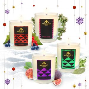 The 2019 Gift Edit - Luxury Christmas Gifts for Her - Bespoke candle gift set - christmas candles - luxury candles