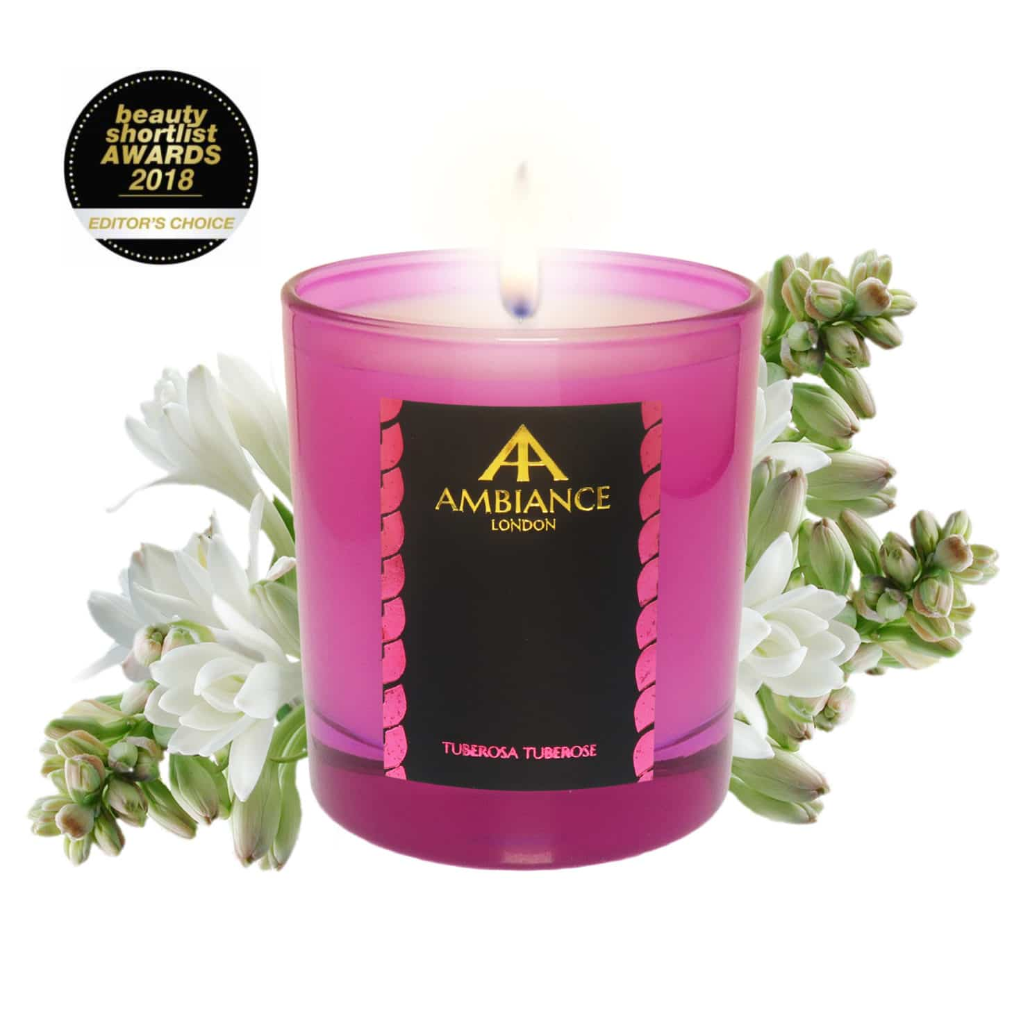 ancienne ambiance tuberosa tuberose luxury scented candle - limited edition - beauty short list awards