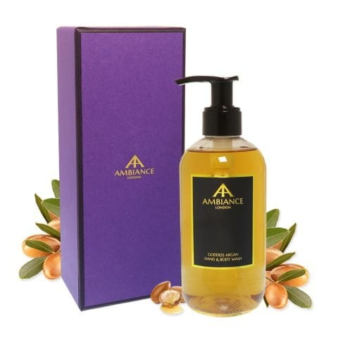 ancienne ambiance argan hand wash - goddess argan hand wash - luxury argan body wash with giftbox