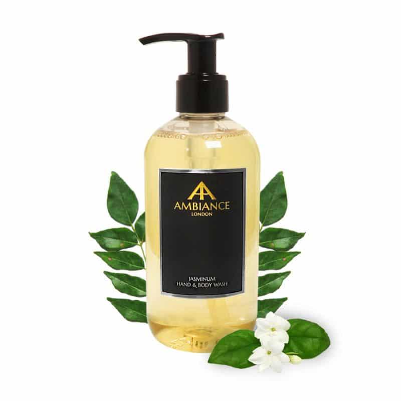 ancienne ambiance jasminum jasmine hand wash - jasmine hand and body wash - luxury jasmine body wash