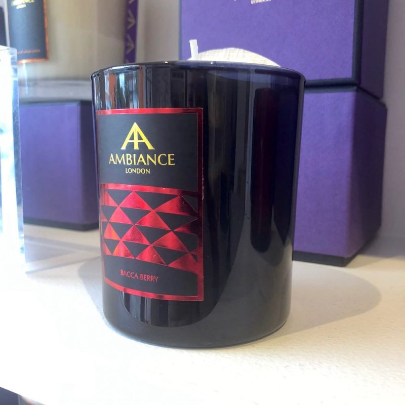 ancienne ambiance limited edition bacca luxury scented candle - black berry scented candle shelfie