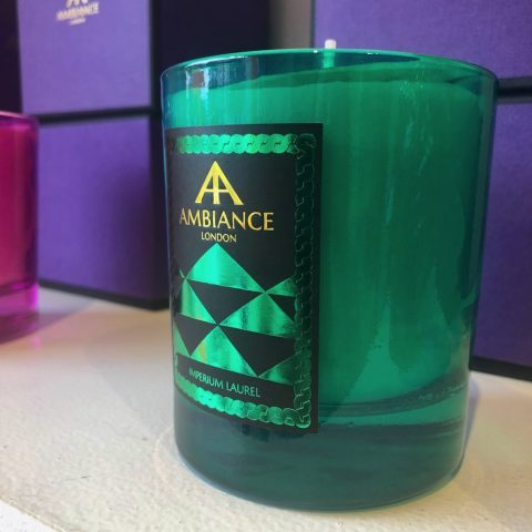 ancienne ambiance limited edition imperium luxury scented candle - green laurel scented candle shelfie