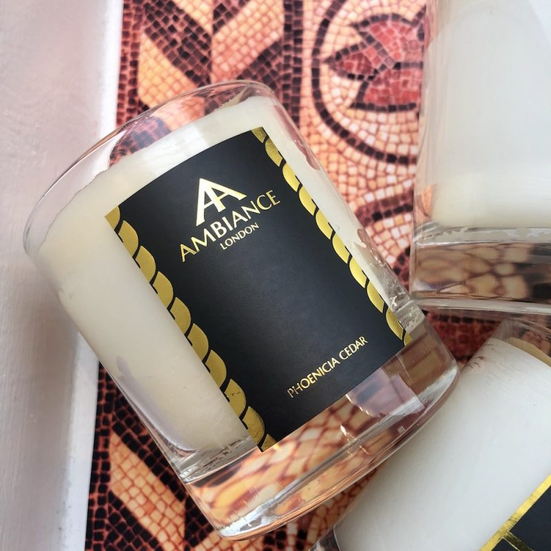 ancienne ambiance luxury scented candles - luxury cedar scented candle