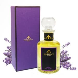 giftboxed lavender bath and body oil - lavender bath oil - lavender body oil - lavendula bath oil ancienne ambiance
