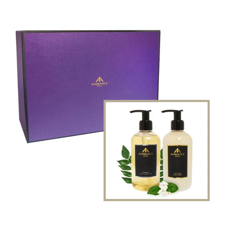 beauty gift set- jasmine hand wash and lotion gift set - ancienne ambiance