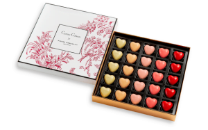 pierre marcolini heart chocolates - the ancienne ambiance blog - valentine's day chocolates