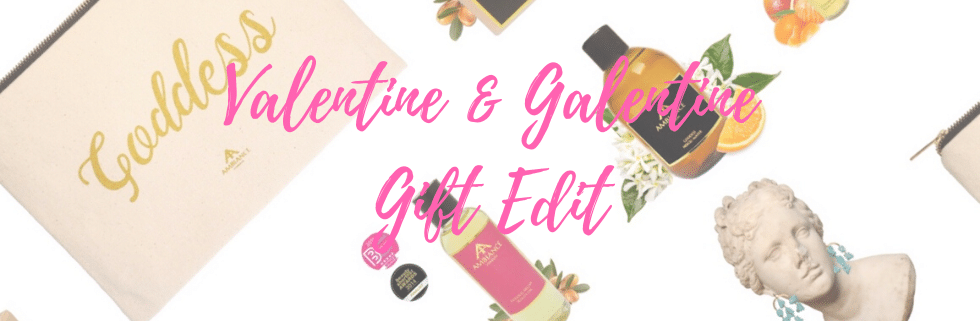 valentine's day galentine gift guide 2020 - ancienne ambiance gifts for her - luxury beauty gifts