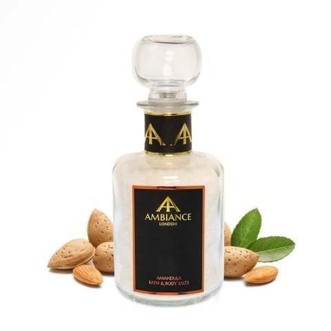 Luxury Almond Scented Bath Salts - Almond Milk Bath Soak - Ancienne Ambiance