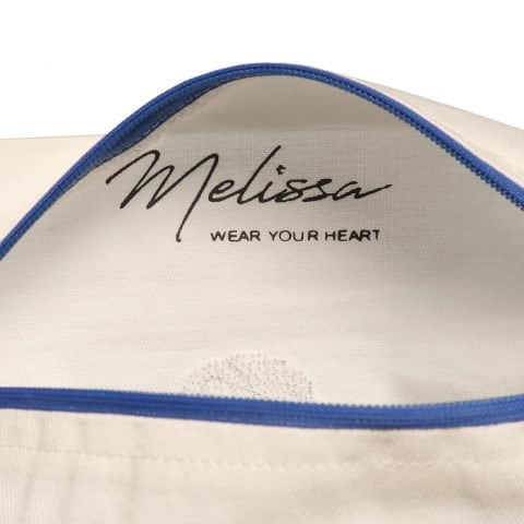 ancienne ambiance x melissa wear your heart goddess vibes white lips pouch