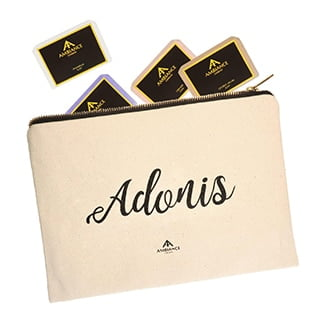 Adonis Pouch | Self Care Kit - Adonis Kit | Pamper Kit - Ancienne Ambiance