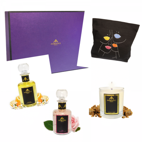 ancienne ambiance london - personalised beauty gift set - bespoke beauty box set