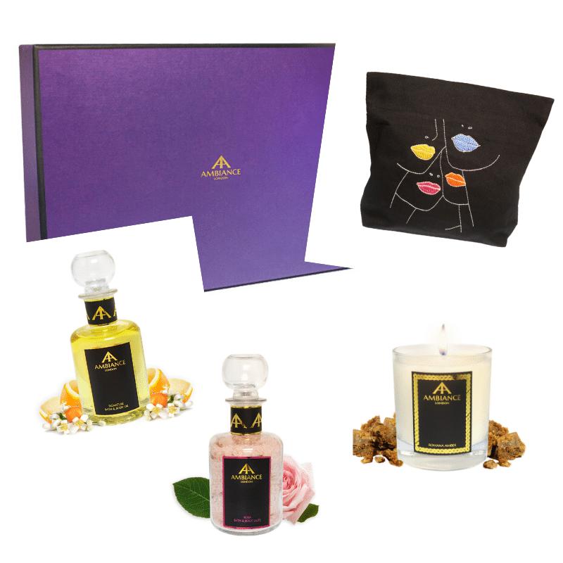 ancienne ambiance london - personalised beauty gift set - bespoke beauty box set