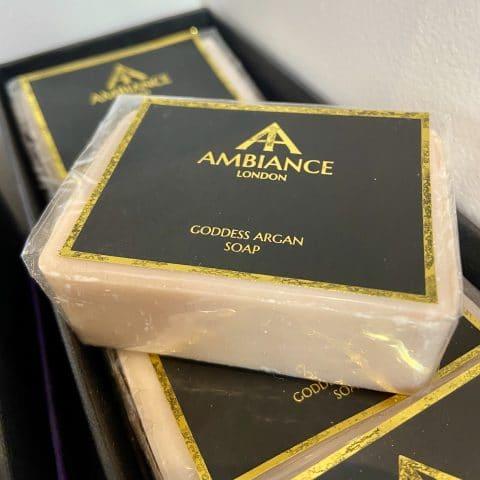 ancienne ambiance london - luxury soap bar - goddess argan soap - moisturising soap