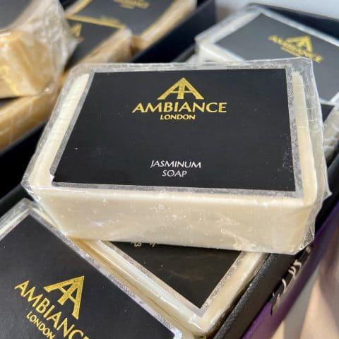 ancienne ambiance london - luxury soap bar - jasminum jasmine soap - moisturising soap