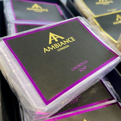 ancienne ambiance london - luxury soap bar - lavendula lavender soap - moisturising soap