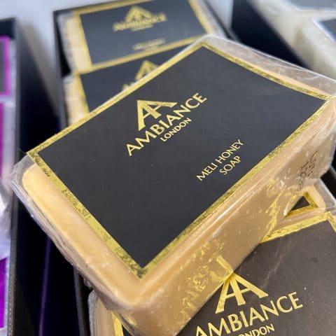 ancienne ambiance london - luxury soap bar - meli honey soap - moisturising soap