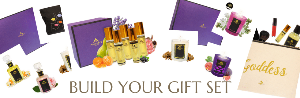 bespoke gifts online - personalised gifts online - build your gift set online at ancienne ambiance london