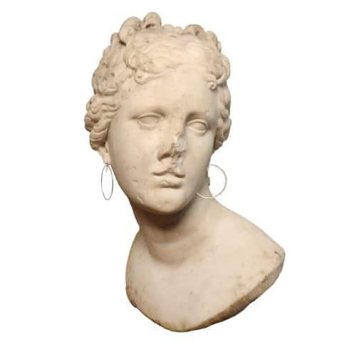 claire van holthe silver hoop earrings - extra large hoop earrings - ancienne ambiance london
