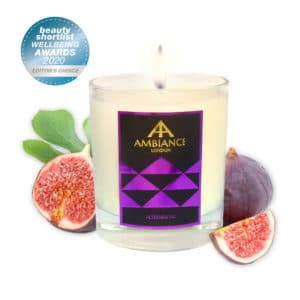 Beauty Shortlist Award Winner - Editors Choice : Luxury Scented Candle ancienne ambiance london - Alteeneh fig scented candle