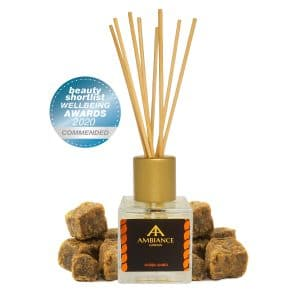 ancienne ambiance london - ambra amber reed diffuser - beauty shortlist award winner - wellbeing awards