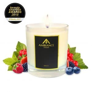 Beauty Shortlist Awards Finalist - Bacca Berry Fruit Scented Candle