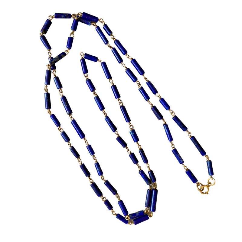 ancienne ambiance - maximos zachariadis lapis necklace