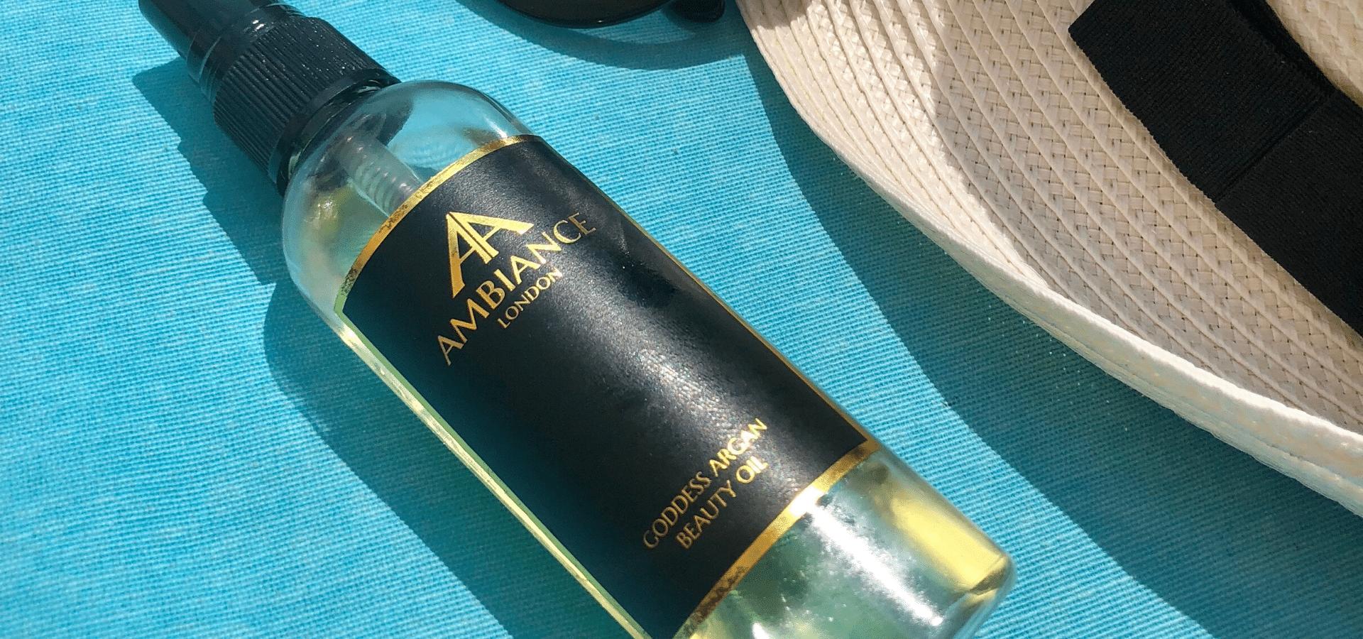 award winning goddess argan beauty oil