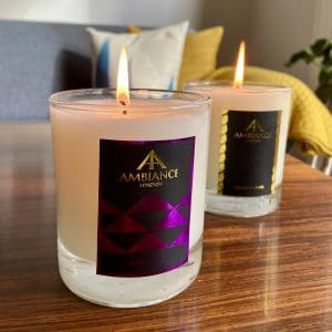 ancienne ambiance luxury candles set - luxury scented candle gift set duo