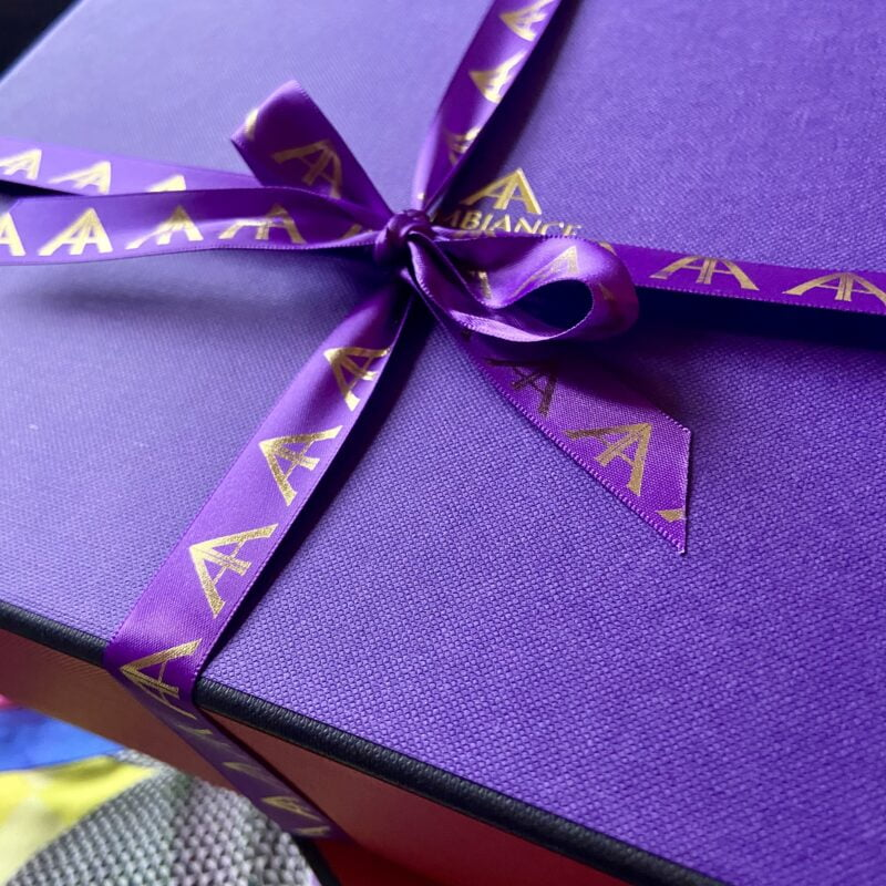 ancienne ambince deluxe gift box - two tone gift box