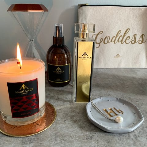 limited edition goddess wellness kit - helen wilson-beevers selfcare kit - beauty editor pamper kit - ancienne ambiance beauty gift