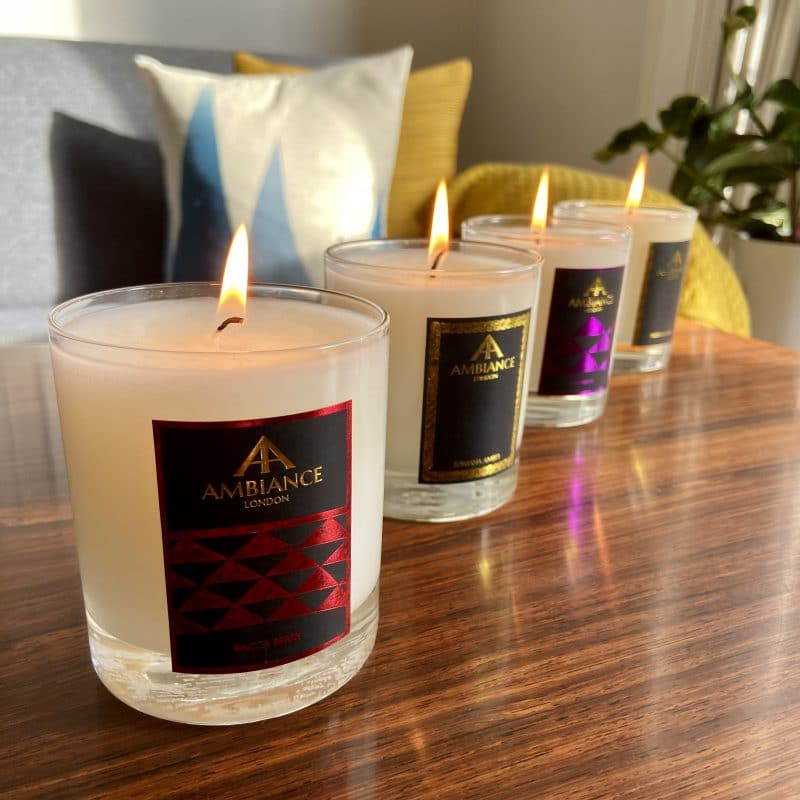 ancienne ambiance luxury candles set - luxury scented candle gift set