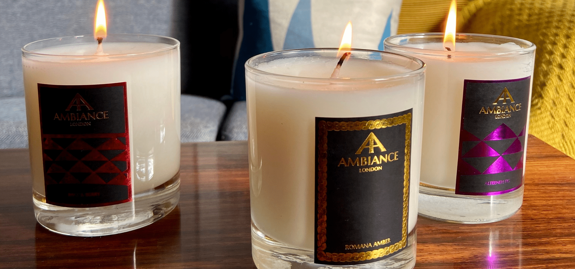 ancienne ambiance luxury scented candles for the home | christmas gift guide