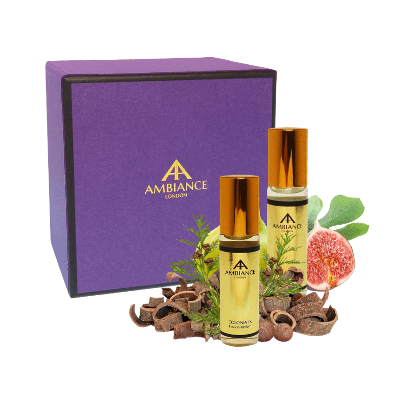 fragrance discovery box   perfume gift set - ancienne ambiance