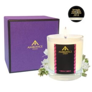 Valentine's Day Gifts - Ancienne Ambiance tuberosa tuberose luxury scented candle giftboxed - beauty short list awards - Galentine's Day and Valentine's Day 2021