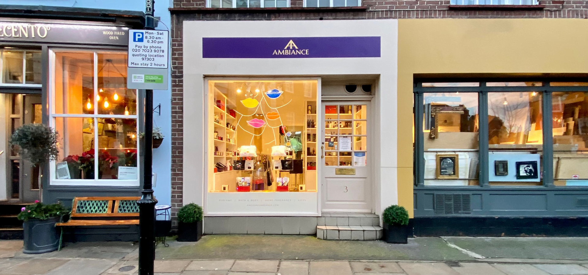 ancienne ambiance london boutique at 3 cale street chelsea SW3