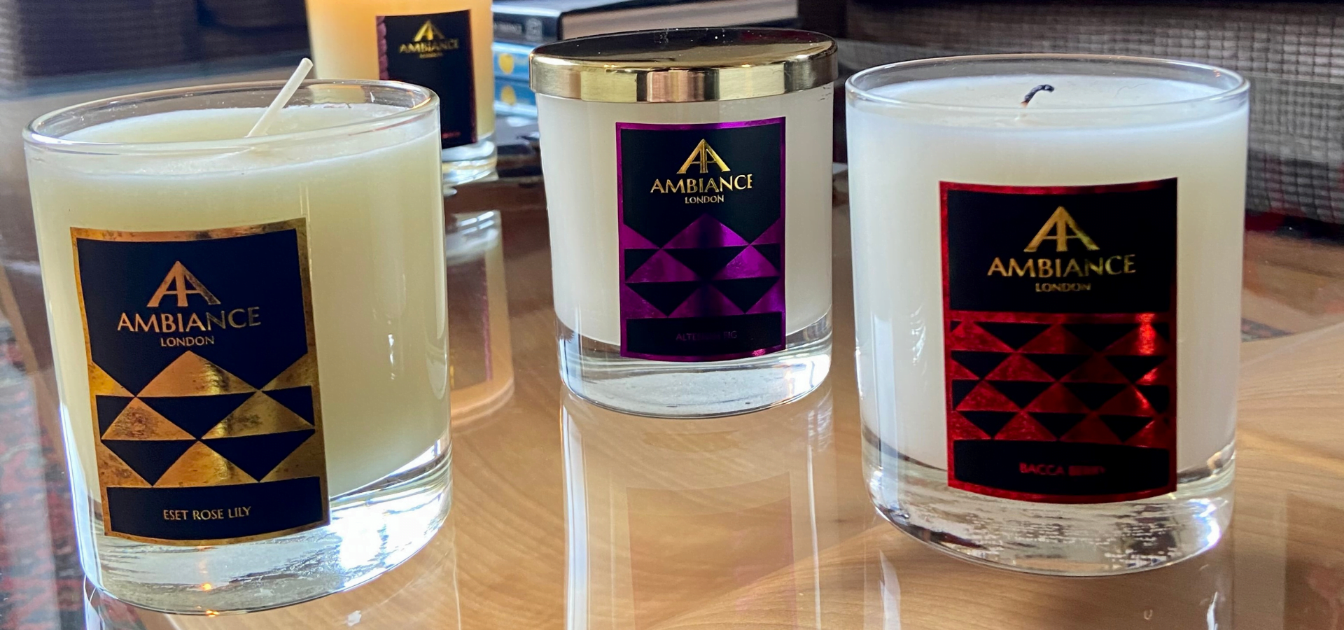 hand poured luxury scented candles ancienne ambiance