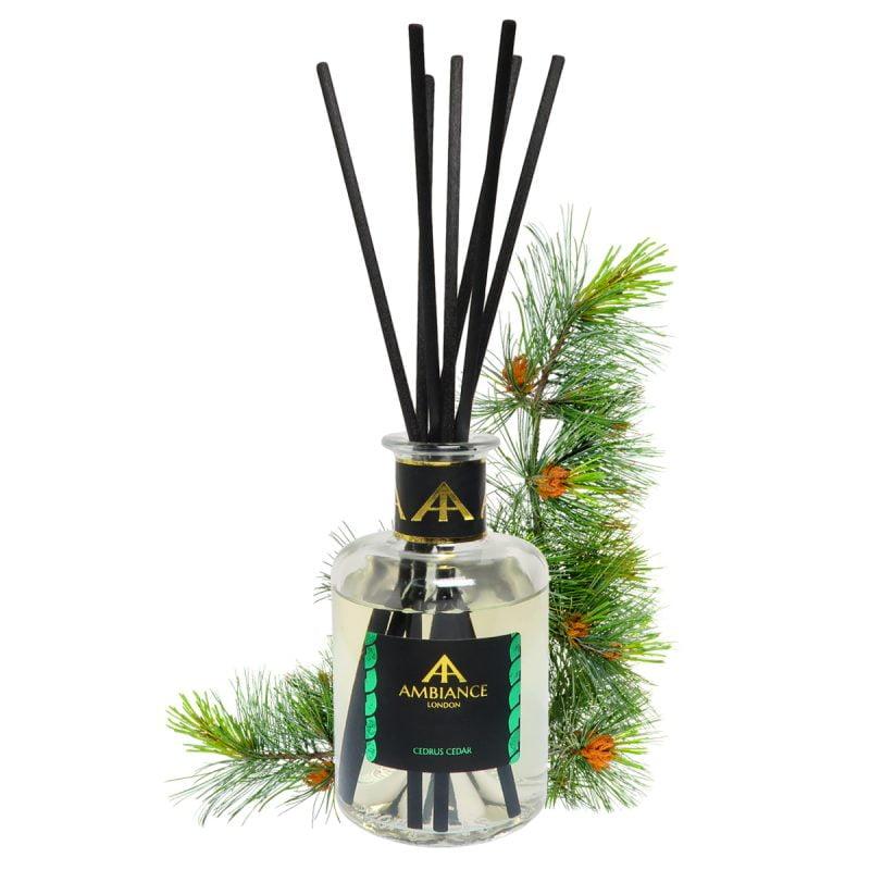 Limited Edition Cedrus Cedar Reed Diffuser - BSL Award Winner 2021 - 200ml cedar reed diffuser - cedar home fragrance