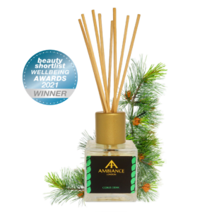 ancienne ambiance london - cedrus cedar reed diffuser - beauty shortlist award winner - wellbeing awards