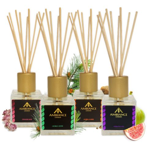 luxury home diffusers - luxury reed diffusers - ancienne ambiance home fragrances