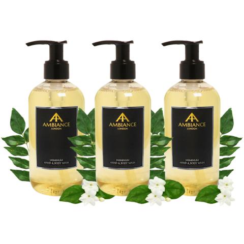 ancienne ambiance 3 piece luxury jasmine body wash