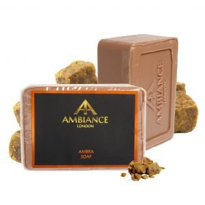 luxury soap - amber scented soap - amber soap - amber savon de marseille - ancienne ambiance soap